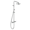 Duravit B.1 Thermostatic Shower System - B14280008010 profile small image view 1