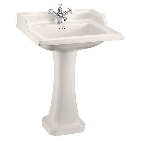 Burlington Medici 650mm Classic Basin and Pedestal