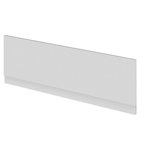 Brooklyn Gloss Grey Mist Front Bath Panel - Various Sizes