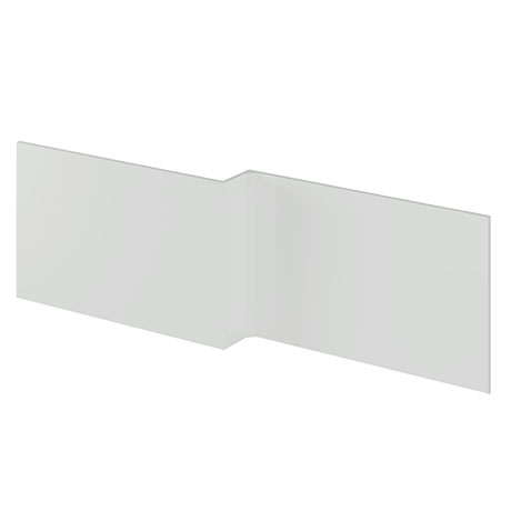 Brooklyn 1700 Gloss Grey Mist L-Shaped Front Bath Panel