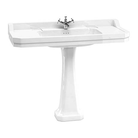 Burlington Edwardian 120cm Basin with Classic Pedestal