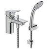 Ideal Standard Tesi 1 Hole Bath Shower Mixer - B1957AA profile small image view 1