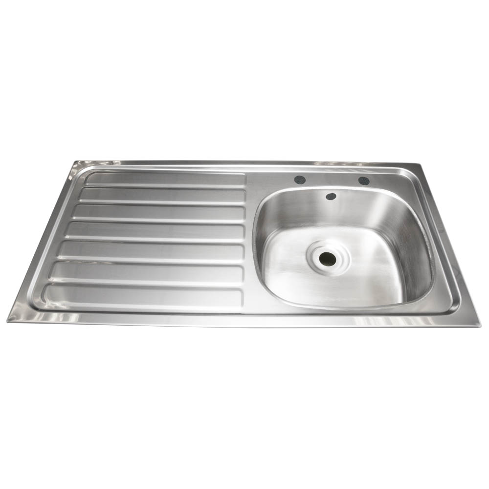 Franke Single Bowl Stainless Steel Kitchen Sink with Drainer