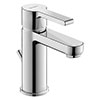 Duravit B.2 S-Size Single Lever Basin Mixer with Pop-up Waste - B21010001010 profile small image view 1