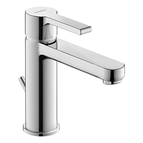 Duravit B.2 M-Size Single Lever Basin Mixer with Pop-up Waste - B21020001010