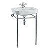 Burlington Victorian 56cm Medium Basin and Regal Wash Stand profile small image view 1