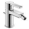Duravit B.2 Single Lever Bidet Mixer with Pop-up Waste - B22400001010 profile small image view 1