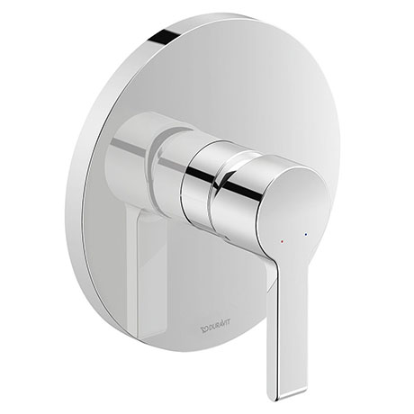 Duravit B.2 Single Lever Shower Mixer for Concealed Installation - B24210010010