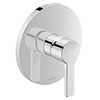 Duravit B.2 Single Lever Shower Mixer for Concealed Installation - B24210010010 profile small image view 1