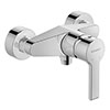Duravit B.2 Wall Mounted Single Lever Shower Mixer - B24230000010 profile small image view 1