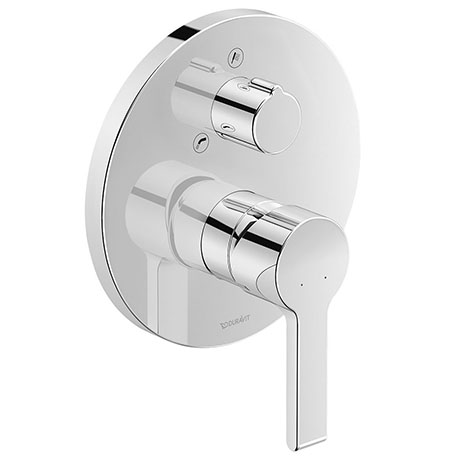 Duravit B.2 Single Lever Bath Mixer with Diverter for Concealed Installation - B25210012010