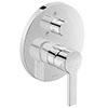Duravit B.2 Single Lever Bath Mixer with Diverter for Concealed Installation - B25210012010 profile small image view 1