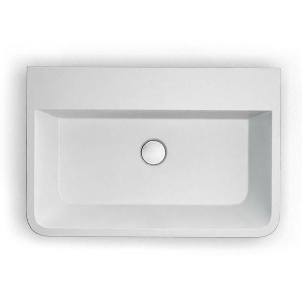 Clearwater - Patinato Bacino Natural Stone Countertop Basin - W590 x D390mm - B2B Profile Large Image