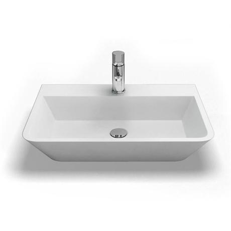 Clearwater - Patinato Bacino Natural Stone Countertop Basin - W590 x D390mm - B2B