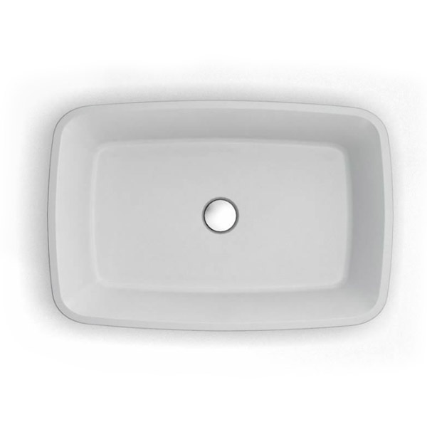 Clearwater - Palermo Bacino Natural Stone Countertop Basin - W590 x D390mm - B3C Profile Large Image