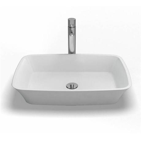 Clearwater - Palermo Bacino Natural Stone Countertop Basin - W590 x D390mm - B3C