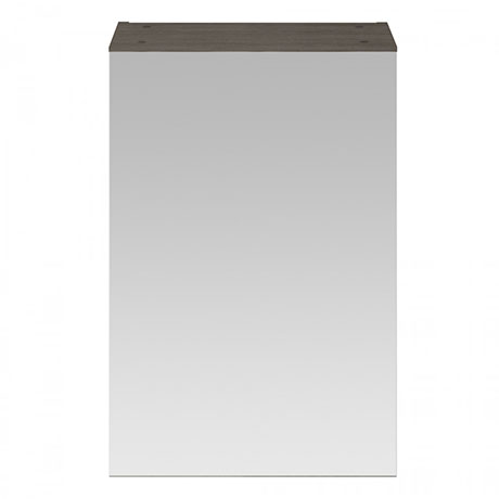 Brooklyn 450mm Grey Avola Bathroom Mirror Unit