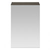 Brooklyn 450mm Grey Avola Bathroom Mirror Unit profile small image view 1