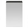 Brooklyn 450mm Black Bathroom Mirror Unit profile small image view 1