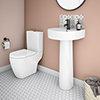 Bianco 4 Piece Bathroom Suite profile small image view 1