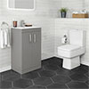 Brooklyn Grey Mist Small 4-Piece Suite profile small image view 1