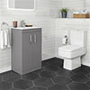 Brooklyn Dust Grey Small 4-Piece Suite profile small image view 1