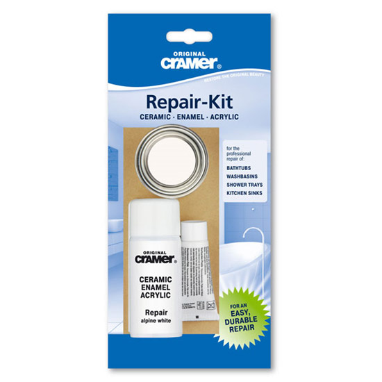 Cramer Bath Repair Kit - Alpine White - B516 Large Image