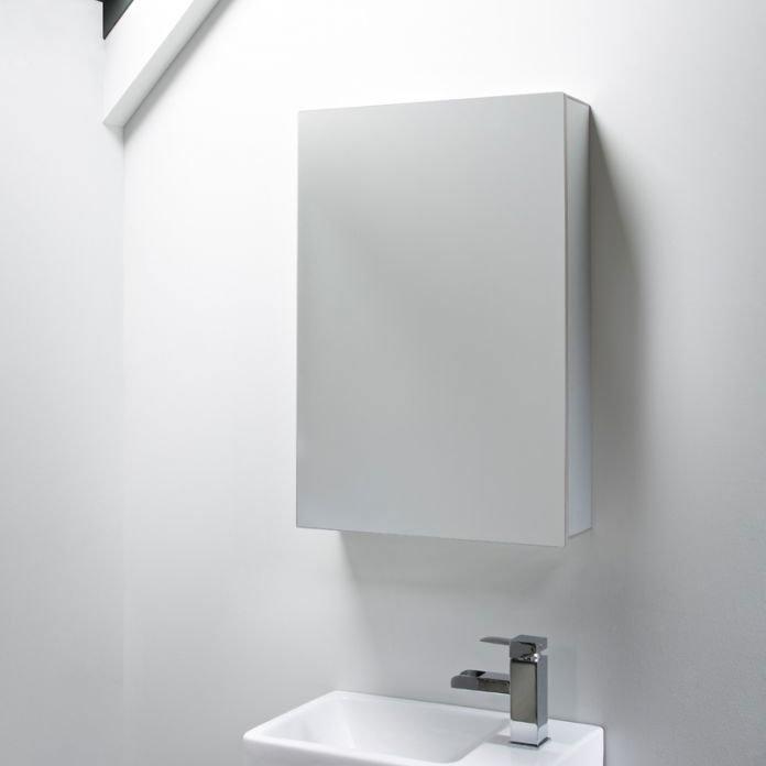 Tavistock Balance Single Door Mirror Cabinet profile large image view 2
