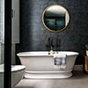 BC Designs Bampton Double Ended Freestanding Bath 1555 x 740mm - Polished White profile small image view 1