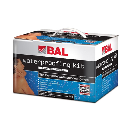 BAL Wet Room and Shower Waterproofing Kit