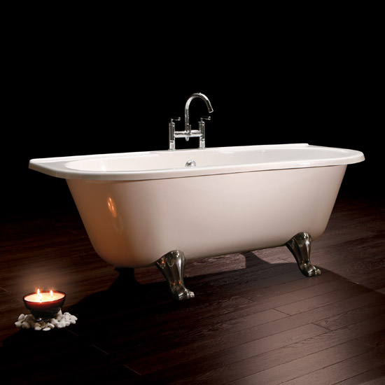 Royce Morgan Balmoral 1680 Luxury Freestanding Bath with Waste profile large image view 2