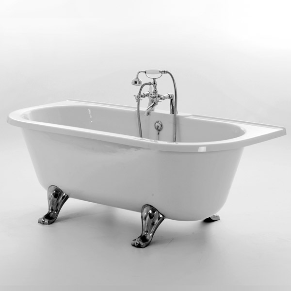 Royce Morgan Balmoral 1680 Luxury Freestanding Bath with Waste Large Image