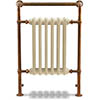 Bampton Traditional Copper 960 x 675mm Heated Towel Radiator profile small image view 1