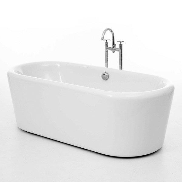 Royce Morgan Bamburgh 1770 Luxury Freestanding Bath with Waste Large Image