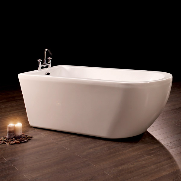 Royce Morgan Barwick 1690 Luxury Freestanding Bath with Waste profile large image view 2