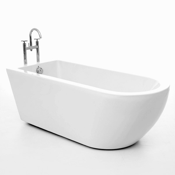Royce Morgan Barwick 1690 Luxury Freestanding Bath with Waste profile large image view 1
