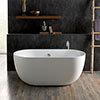 BC Designs Dinkee Freestanding Modern Bath 1500 x 780mm profile small image view 1