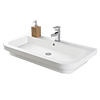 Hudson Reed Bias 900x500mm Polymarble Counter Top Basin - BAS024 profile small image view 1