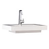 Hudson Reed 700 x 520mm Rectangular Raised Counter Top Basin - BAS033 profile small image view 1