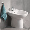 Grohe Bau Floor Standing Bidet Package (Tap + Waste Included) profile small image view 1