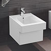 Grohe Cube Wall Hung Bidet Package (Tap + Waste Included) profile small image view 1