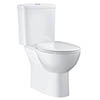 Grohe Bau Rimless Close Coupled Toilet with Soft Close Seat (Bottom Inlet) + FREE GIFT PROMOTION profile small image view 1