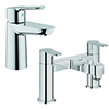 Grohe BauEdge Tap Package (Bath + Basin Tap) profile small image view 1