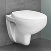 Grohe Bau Rimless Wall Hung Toilet with Soft Close Seat profile small image view 1