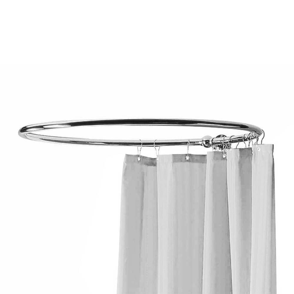 Bayswater Round Traditional Shower Curtain Rail