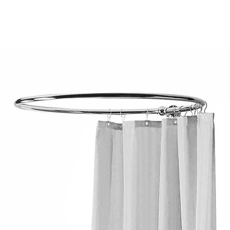 Bayswater Round Traditional Shower Curtain Rail