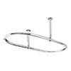 Bayswater Oval Traditional Shower Curtain Rail profile small image view 1
