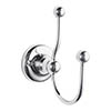 Bayswater Traditional Double Robe Hook profile small image view 1