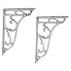 Bayswater Ornate Cistern Brackets profile small image view 1