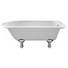 Bayswater Sutherland 1700mm Single Ended Freestanding Bath profile small image view 1